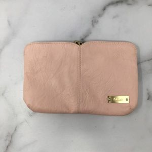 Chloe Parfum Pink Zipper Pouch Clutch Makeup Bag